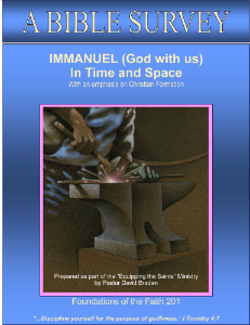 Immanuel in Time and Space