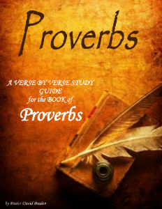 Proverbs - A Verse by Verse Study Guide